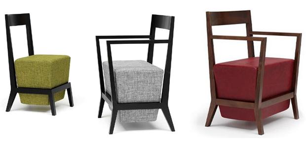 Sillas y sillones for Sillas y sillones modernos