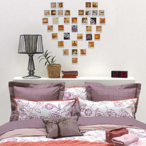 Corazones para el dormitorio for Decoracion de la pared para el dormitorio