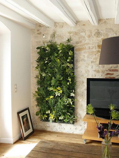Un jard n en tu pared - Decoracion paredes jardin ...