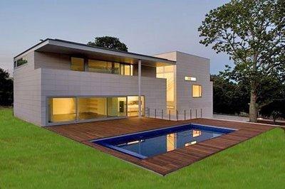 Fachadas minimalistas fachada 2 for Fachadas oficinas minimalistas