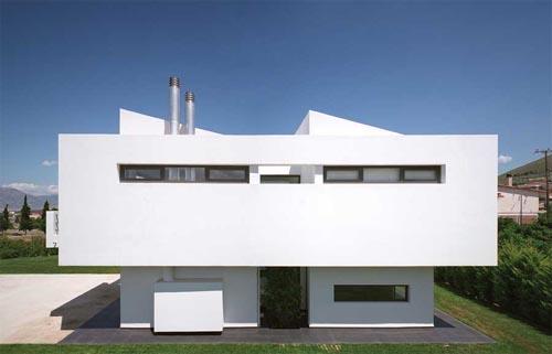 Fachadas minimalistas fachadas 4 for Fachadas oficinas minimalistas
