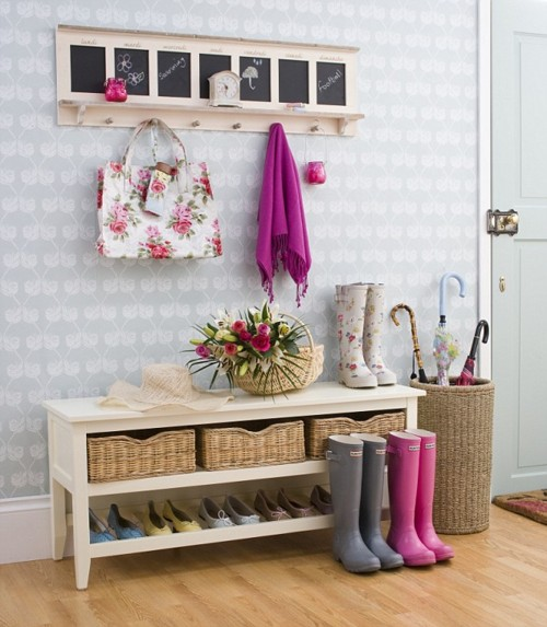 Recibidores peque os y pr cticos for Muebles para recibidores pequenos