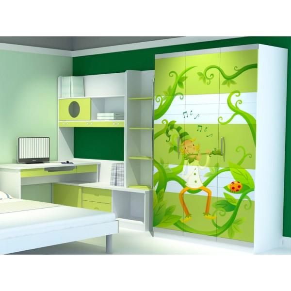 Vinilos decorativos para armarios for Pegatinas infantiles para muebles