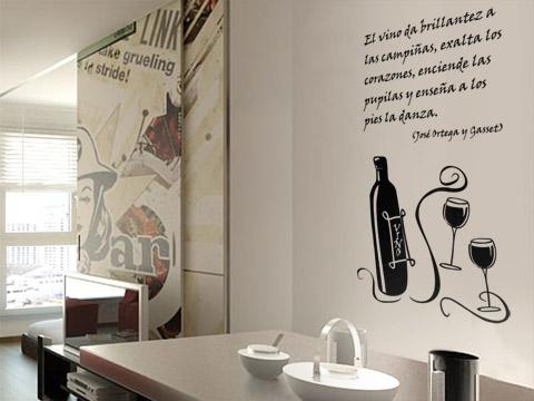 Vinilos para la cocina vinilo 6 - Como decorar las paredes de la cocina ...