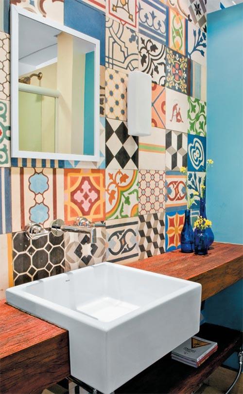 Azulejos Baño Colores Vivos:Azulejos hidráulicos para el baño