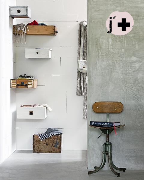 Ideas Para Decorar El Baño Reciclando:Upcycling Old Drawers