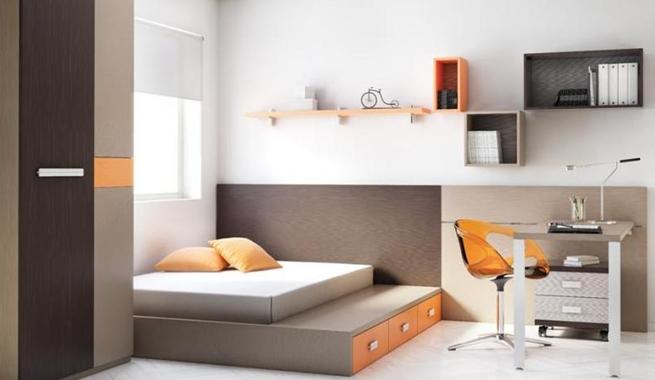 Alcobas juveniles modernas cocinas integrales en madera for Recamaras minimalistas 2015