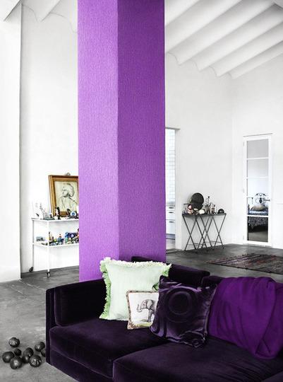 Columnas interiores en decoraci n - Decorar columnas salon ...