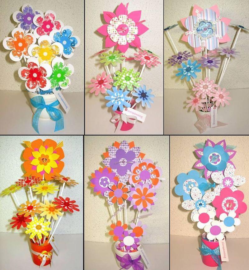 Manualidades flores de papel imagui - Manualidades en papel ...