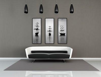 Decoraci n en gris for Que colores combinan con el gris en paredes