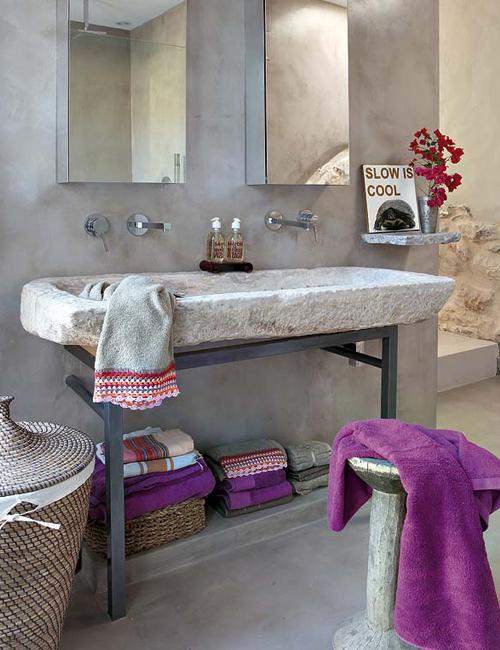 Baños Rusticos Para Casa De Campo:Baños Rustic Chic