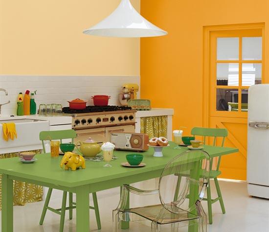 Cocinas de colores - Colores para pintar una cocina ...
