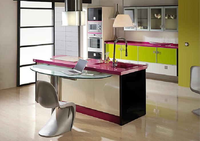 Cocinas de colores | Visioninteriorista.com