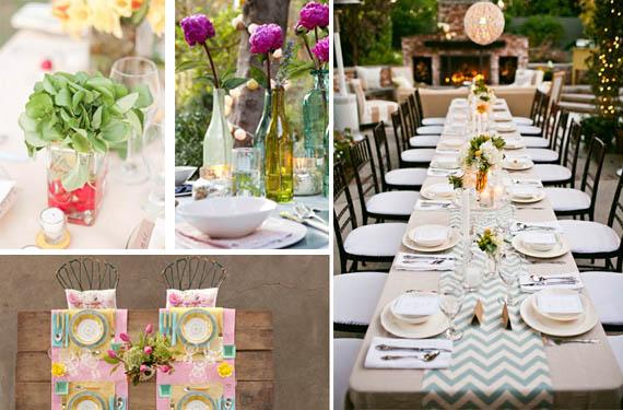 Decora tu mesa en verano - Decorar mesas para eventos ...