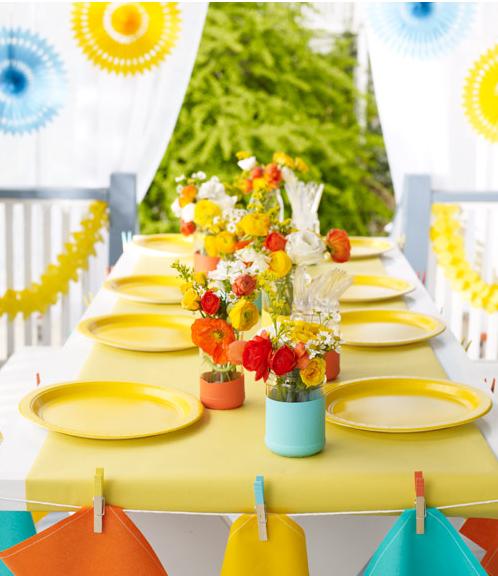 Decora tu mesa en verano - Mesas de verano ...