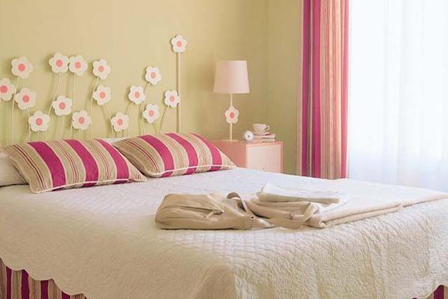 Como hacer un cabecero de cama infantil cmo hacer un - Cabeceros de cama con cojines ...