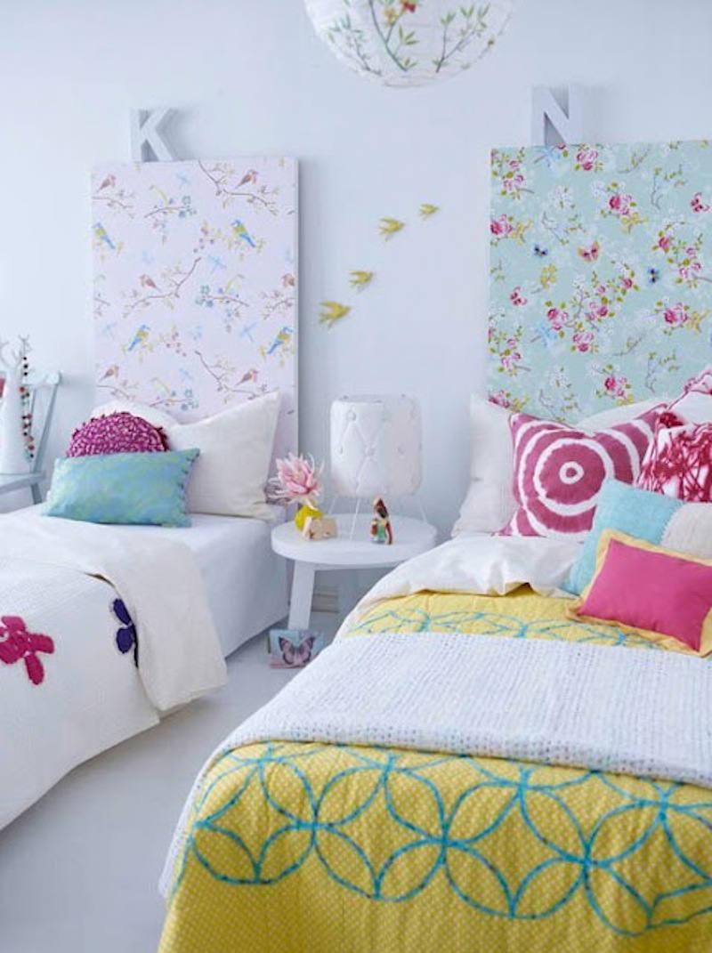 Cabeceros de flores - Decorar cabeceros de cama ...