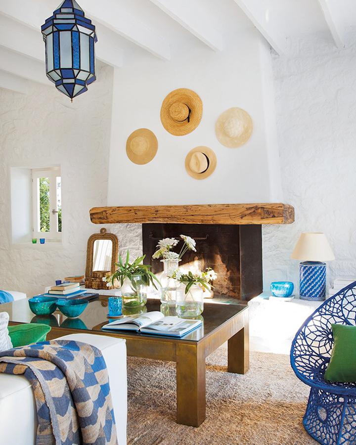 Casa de verano en ibiza - Decoracion estilo mediterraneo ...