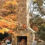 chimeneas exteriores