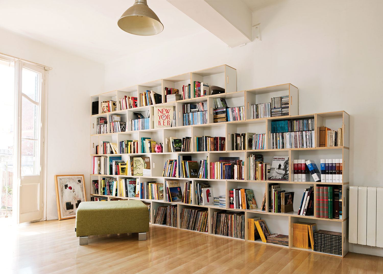 Из чего сделать полку для книг своими руками