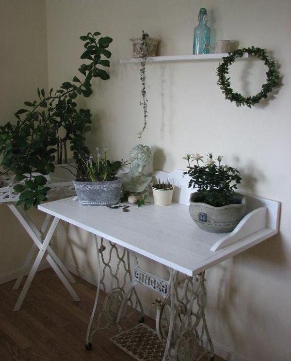 Reciclando muebles mesas de costura - Mesas para costura ...