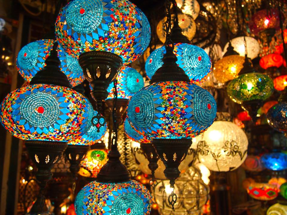L mparas turcas for Decoracion casas turcas