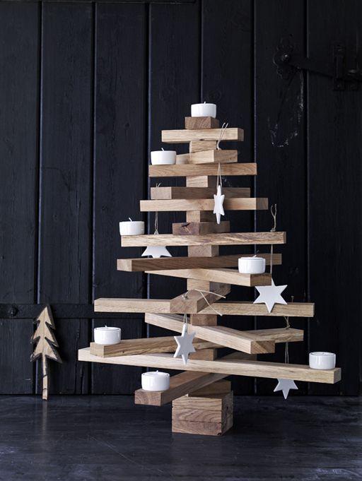 Rboles de navidad diferentes for Arbol interior