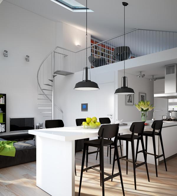 Apartamento moderno de dise o for Aptos modernos