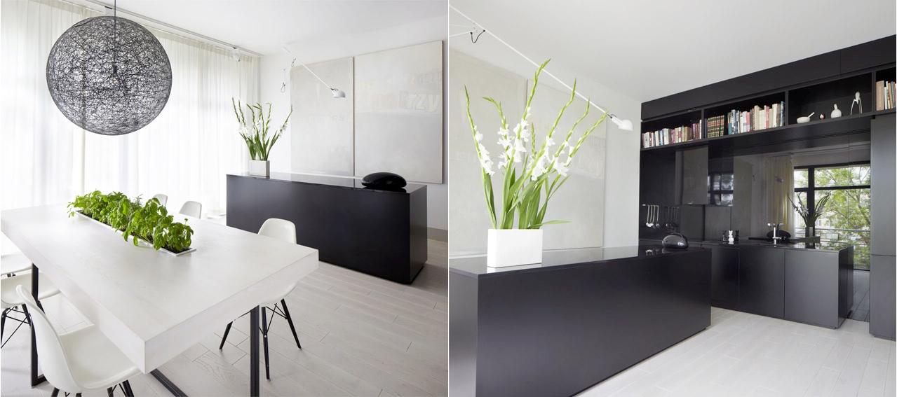 Interiores modernos de a polaco architectural studio - Casas interiores modernos ...