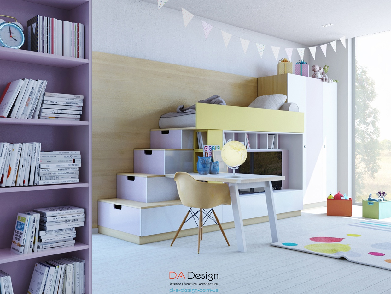 Dormitorio infantiles de Da Diseño | Visioninteriorista.com