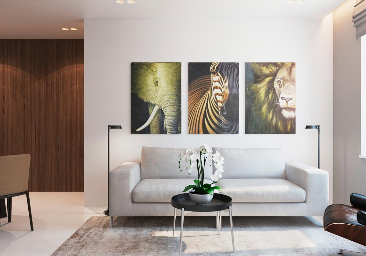 Apartamento moderno y confortable for Interior design moderno