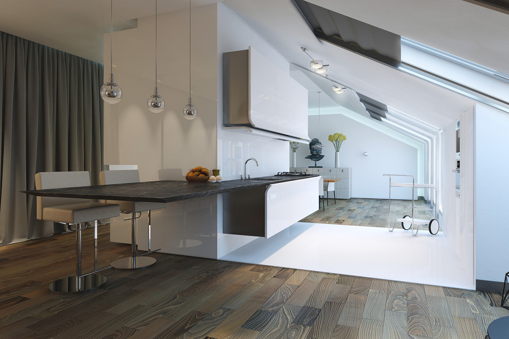 Cocinas modernas y funcionales - Cocinas funcionales y modernas ...