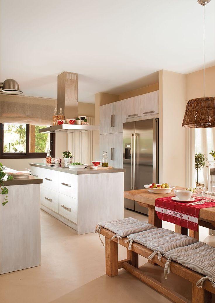 Cocinas con isla - Decorar office cocina ...