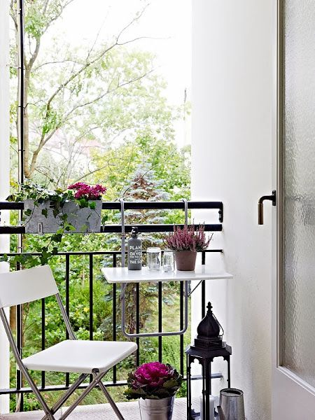Decoraci n para peque as terrazas - Terrazas pequenas con encanto ...