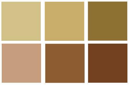 Decoraci n en tonos tierra for Colores beige para paredes exteriores
